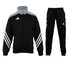 Junior SERE14 PES SUIT BLACK/SILVER/WHT F49707