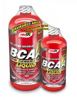 BCAA New Generation liquid 1000ml + 500ml zdarma